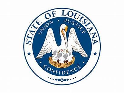 Louisiana State Seal Svg