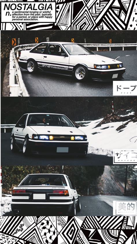 Aesthetic Jdm Iphone Wallpaper by Hey Guys Here S My Ae86 Levin Wallpaper For Iphone I Made