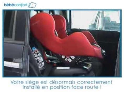 siege auto iseo neo bebe confort installation à la route du siège auto groupe 1 neo