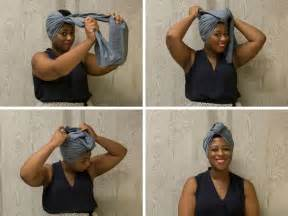 headband wrap how to tie a headwrap in four fabulous ways huffpost