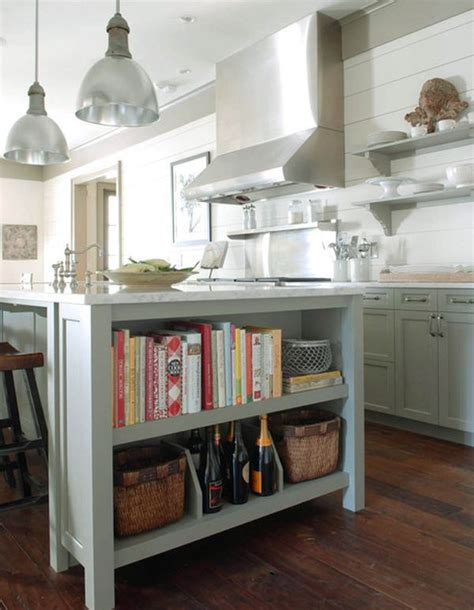 kitchen island bookcase use books as with these bookcase d 233 cor ideas 1846