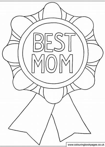 Coloring Mothers Printable Happy Mother Mom Colouring