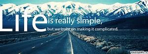 Facebook covers... Simple Coverwith Quotes