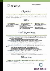 word resume templates 2016 standard resume format 2016 With how to make a standard resume