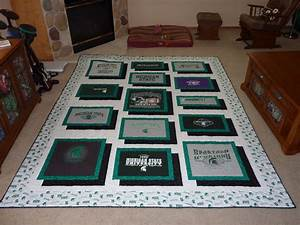 Bell Creek Quilts Michigan State TShirt Quilt