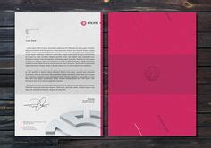 letterhead envelope  business card design