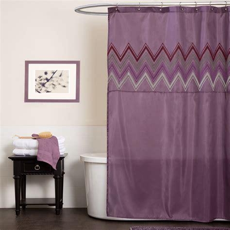 plum shower curtain lush decor myra plum shower curtain home bed bath