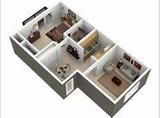 One Bedroom Apartment Picturesque Design Interior One