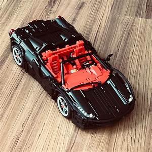 Lego Technic Ferrari : lego technic ferrari 458 red in black from lego legotechnic legocar legoindonesia legomoc ~ Maxctalentgroup.com Avis de Voitures