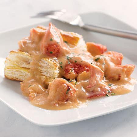 lobster newburg  oz lobster meat dinners lobster