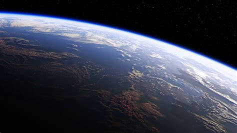 Amazing View Of Planet Earth From Space Ultra High
