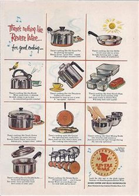 images  revere ware ads  pinterest ware cookware  print ads