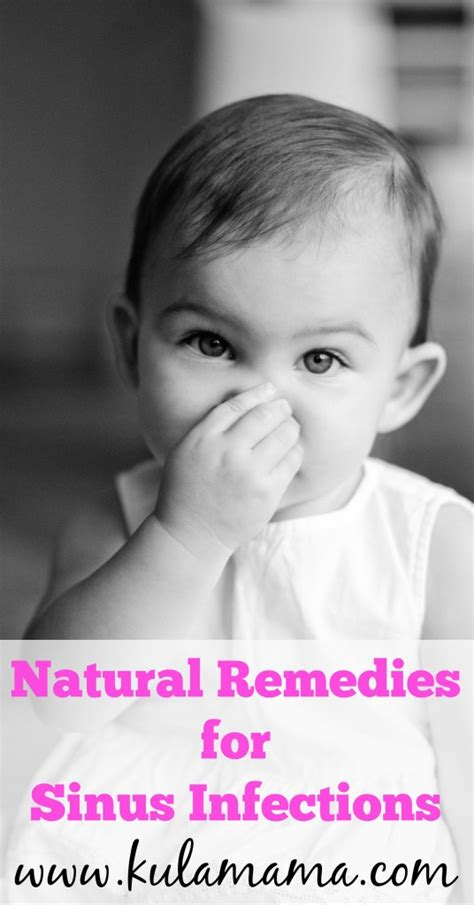 natural remedies  sinus infection