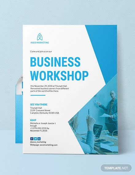 business invitations psd ai vector eps