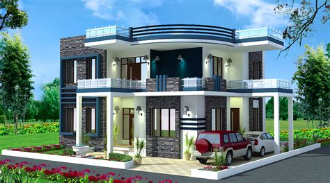 contemporary modern home plans spectacular modern residential villas plan everyone will