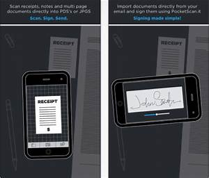 scan sign and send documents with pocketscanit With scan and send documents
