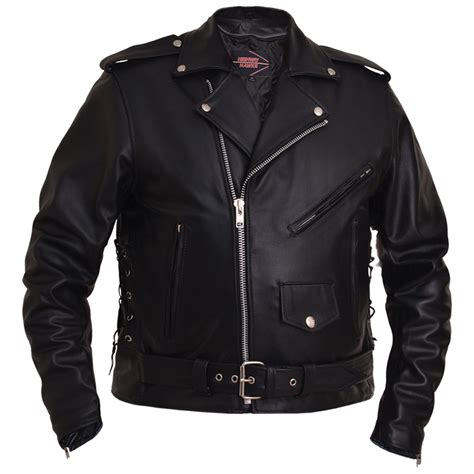 motorcycle jacket store classic side lace motorcycle jacket by highway hawks unik