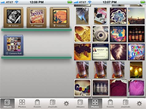 iphoto for iphone review iphoto for ios out does adobe for mobile image