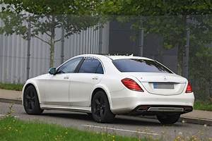 Mercedes Class S : spyshots 2020 mercedes s class w223 mule spied for the first time looks wider autoevolution ~ Medecine-chirurgie-esthetiques.com Avis de Voitures