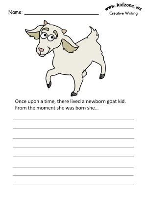 goat writing prompt 130 | page goats wp
