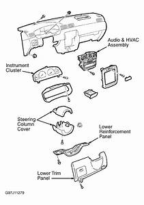 2001 Nissan Sentra Dash Removal Diagram