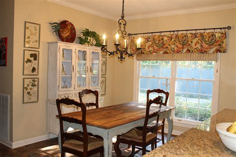 French Country Valances For Kitchen  Window Treatments