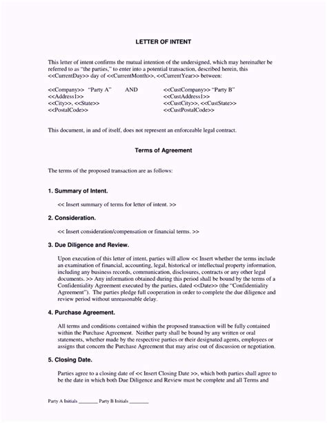 contractor letter  intent cover letter samples cover