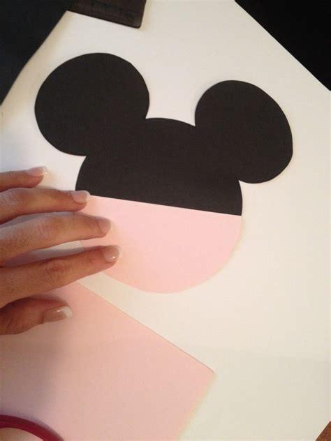 diy minnie mouse invitation  real bow  minnie