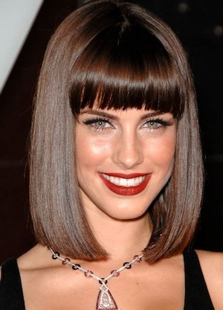 Black Hairstyles Bob With Bangs by Bob Hairstyles W Bangs