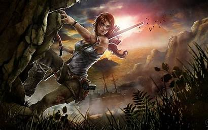 Raider Fan Games Tomb Lara Croft Artwork