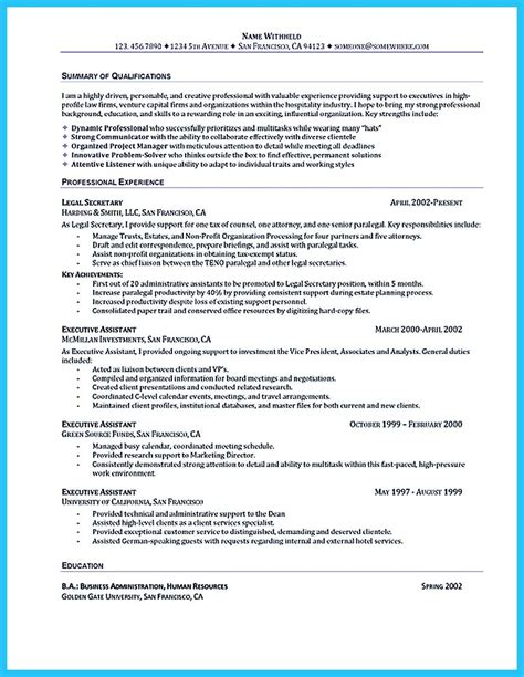 cool  administrative assistant resume sample