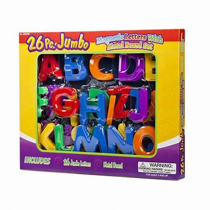 Magnetic Letters Board 26pc Pc