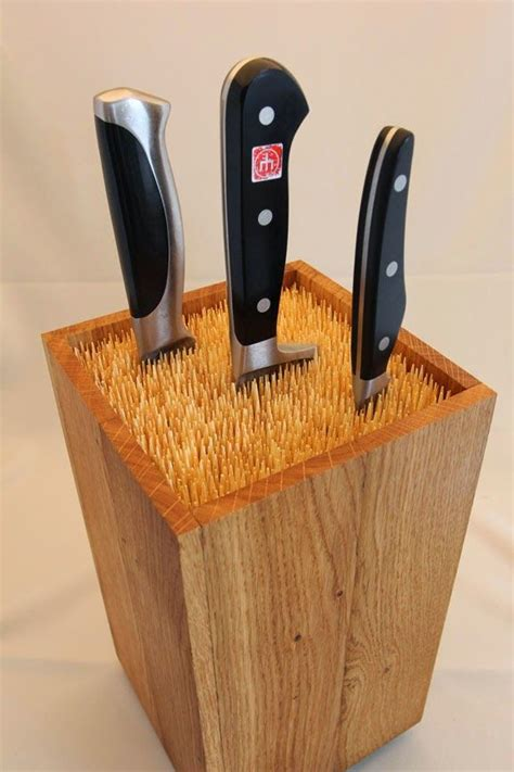 Meistara Noslēpums: Virtuves nažu statīvs | Knife block ...