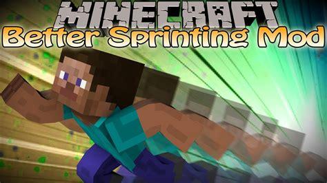 Minecraft Better Sprinting Mod V3 - Auto Sprinting ...