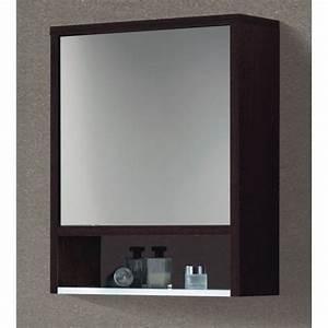 Meuble De Salle De Bain Avec Miroir : armoire salle de bain miroir pas cher ~ Nature-et-papiers.com Idées de Décoration