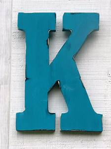 guestbook large wall letters rustic wooden letter k distressed With big wooden letter k