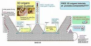 3d Origami Swan Love Boat Diagram