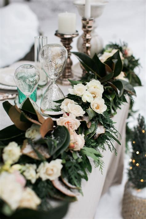 Rose gold and Emerald Holiday inspiration Rustic wedding