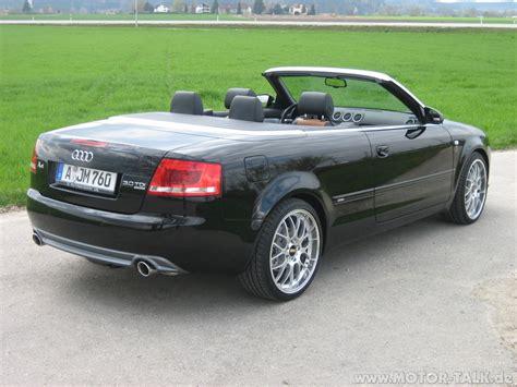 Audi A4 Cabriolet 30 Quattro Pictures Photos