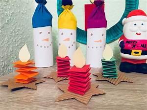 Weihnachtsgeschenke Für Eltern Basteln : schneem nner aus eisstielen und wattepads basteln mit kindern der familienblog f r kreative ~ Orissabook.com Haus und Dekorationen