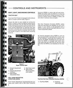 Ford 5610 Tractor Operators Manual