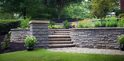 solid concrete retaining wall 35 retaining wall blocks design ideas how to choose the right ones