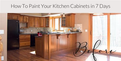 simple steps to painting your cabinets or cupboards paint your kitchen cabinets in 7 days paint steps 7