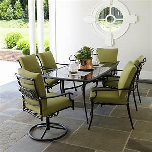 Garden Oasis Rockford 7pc Dining Set
