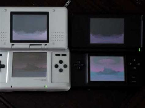 Nintendo DS vs DS Lite YouTube