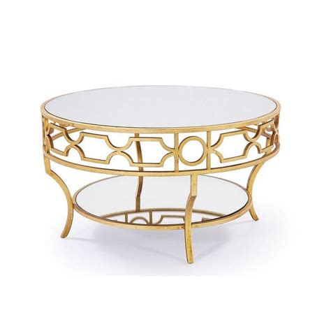 round gold coffee table round table with shelf products bookmarks design