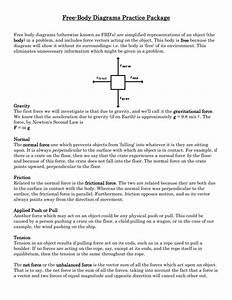 Worksheet  Free Body Diagram Worksheet With Answers  Worksheet Fun Worksheet Study Site