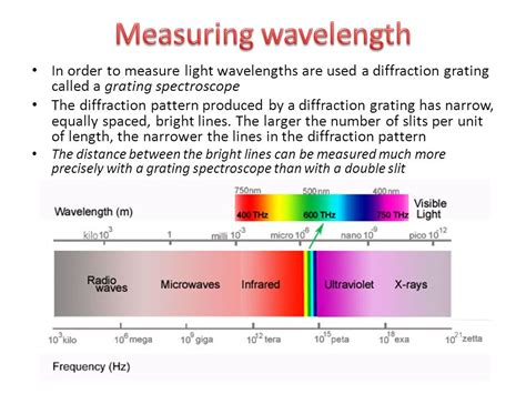 how to measure wavelength of light diffraction interference of light ppt video online