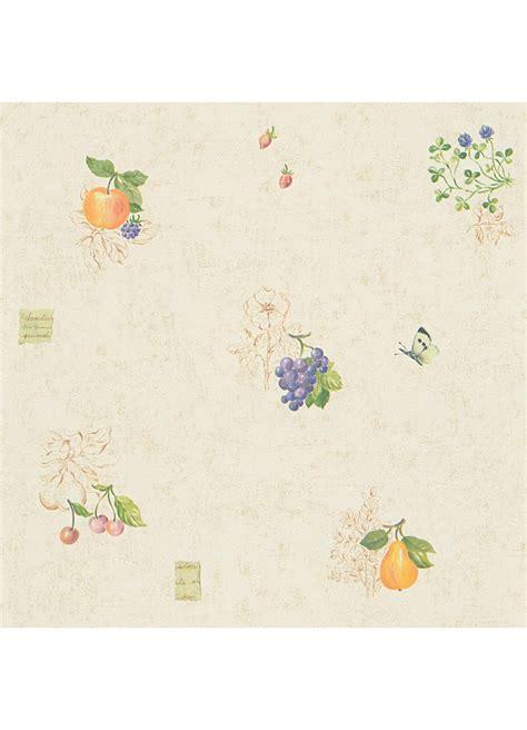 papier peint cuisine papier peint cuisine quot fruits et papillons quot jaune