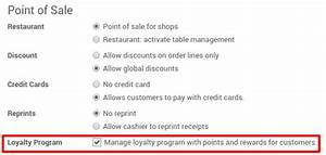 how to create run a loyalty reward system odoo 90 With srs document for point of sale system